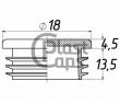 Заглушка круглая 18 мм ДУ 10
