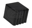 Заглушка для парт квадратная наружная 25*25 подпятник