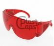 Защитные очки красные