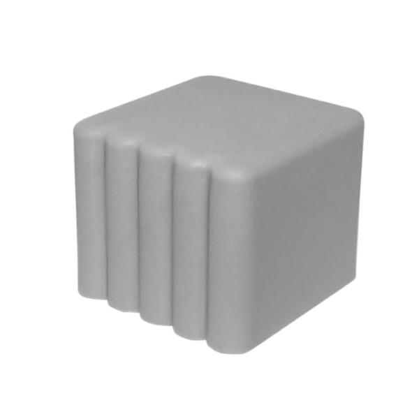 Заглушка квадратная наружная 20х20 с каблуком-0